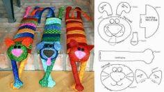 ARTE COM QUIANE - Paps,Moldes,E.V.A,Feltro,Costuras,Fofuchas 3D: molde gatinho inedito e multi função