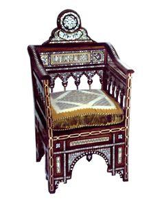 El Palacio Damasceno Furniture - Syrian Furniture | Chairs, NURAN