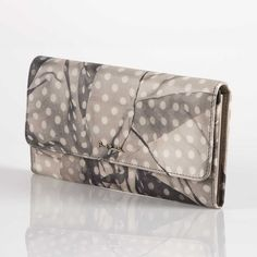 Paul Smith Purses - Floaty Polka Dot Print Tri-Fold Purse