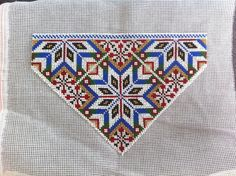 Bringeduk til Fanabunad, pike Hardanger Embroidery, Traditional Dresses, Cross Stitching, Cross Stitch Patterns, Needlework, Diy And Crafts, Textiles, Crafty, Quilts