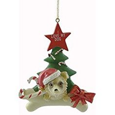 Personalized Ornaments CHIHUAHUA Resin Dog Personalized Christmas Tree
