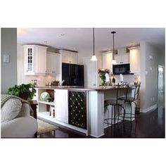 White Kitchen Black Appliances repainted cabinets from the grand design co. want to re-paint
