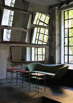 Green sofa/Antonio Marras