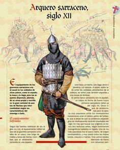Saracen archer, XII c.