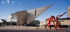 The Denver Art Museum is one of the largest art museums between Chicago and the West Coast.