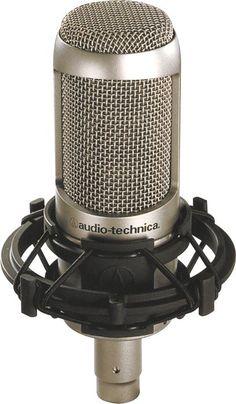 Audio Technica AT3035 condenser microphone for recording vocals