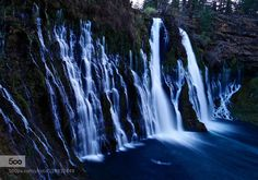 Burney Falls by -Aquamarine- - Tagged by Mak Khalaf