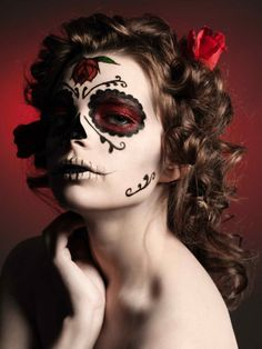 day of the dead makeup | Tumblr