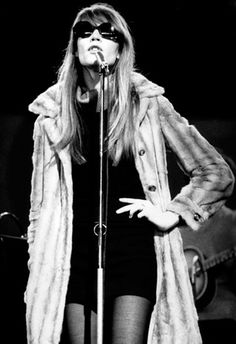 Francoise Hardy live at the Hippodrome Theatre 1968
