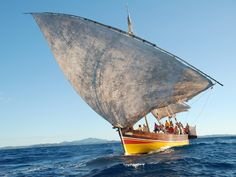 East Africa  dhow, Mozambique Channel