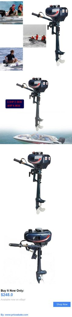 boat parts: 3.5Hp Outboard Motor Boat Engine 2-Stroke Updated With Water Cooling System Usa BUY IT NOW ONLY: $248.0 #priceabateboatparts OR #priceabate