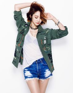 Korean Magazine Lovers — Go Joon Hee - The Celebrity Magazine June Issue. Hottest Female Celebrities, Cute Celebrities, Fashion Poses, Fashion Outfits, Celebrity Magazines, Cute Asian Girls, Korean Actresses, Asian Fashion, Cool Outfits