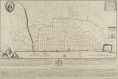 English architect Sir Christopher Wren died on the 25 February 1723. Here is an 18th century copy of Wren's plan for rebuilding London after the great Fire destroyed seven-eights of the city.