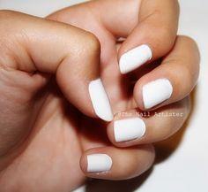 Tendencia manicura blanca