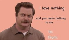 "Community Post: 13 Valentines For ""Parks And Recreation"" Fans"
