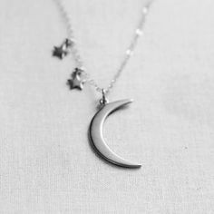 Looking for a unique and gorgeous jewelry? Get this Stars and Moon Pendant Necklace for free, just pay shipping! This silver necklace is perfect for women who's into fashion trends. Come visit our website and grab yours now.