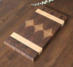 A personal favorite from my Etsy shop https://www.etsy.com/listing/450753982/end-grain-walnut-cutting-board-butcher