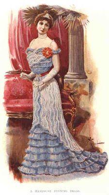 .História da Moda.: Século XIX