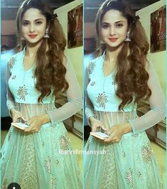 Lovely Dresses, Beautiful Outfits, Indian Fashion Dresses, Fashion Outfits, Afghani Clothes, Heavy Dresses, Indian Bridal Wear, Elegant Saree, Jennifer Winget