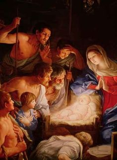 Guido Reni - Adoration of the shepherds (1575-1642)