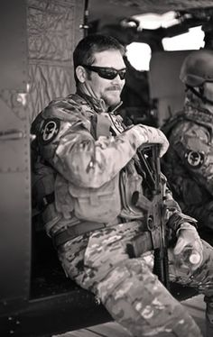 """Chief Chris Kyle (USN, honorably discharged in 2009) is one of the top snipers in the history of the American armed forces. From 1999 to 2009, he recorded the most career sniper kills in United States military history. Iraqi insurgents feared Chief Kyle so much they named him al-Shaitan (""""the devil"""") and placed a bounty on his head. served with elite Navy SEALs, team 3, Chief Kyle has also served with units from the Army, Marine Corps and other gov. fields. RIP & God Bless You."""
