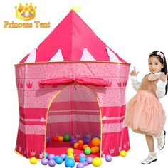 Large Pink Princess Quality House Tent