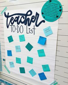 Teacher To-Do Lists!