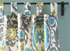 DIY Tab Top Curtains Tutorial