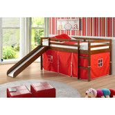 Found it at Wayfair - Tent Twin Slat Bed with Slide