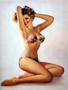 pin up girls - Google Search | Follow our pin up drawing boards here --> http://www.pinterest.com/thevioletvixen/pin-up-pretties-illustrations/