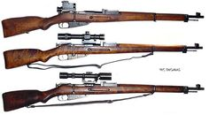 Finnish version of the Mosin Nagant. The top in sniper rifles of WW 2.  Wonderful rifles! http://ammocollector.blogspot.com/:
