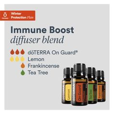 Perfect essential oils blend to diffuse with all the sicknesses going around. These oils all come in the healthy start enrollment kit ♥️ Homemade Essential Oils, What Are Essential Oils, Doterra Diffuser, Essential Oil Diffuser Blends, Doterra Frankincense, Doterra Essential Oils, Doterra Blends, Essentials, Essential Oils