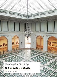 The Complete Travel Guide for visitors to NYC covering Museums and culture by neighborhood. Read more for all the best museums, locations, cost and more!  NYC guide | NYC museums | new york city museums | travel to nyc