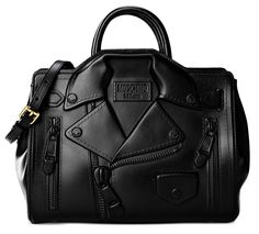 Shoulder Bag Moschino Women on Moschino Online Store. Secure payment and… Studded Handbags, Studded Purse, Purses And Handbags, Black Handbags, Harley Davidson, Moschino Bag, Birkin, Shoulder Handbags, Shoulder Bags