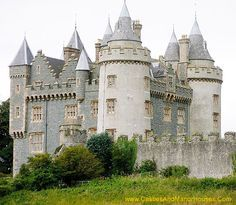Killyleagh Castle, Killyleagh, County Down, Northern Ireland. - .