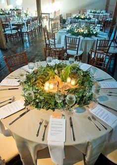 54 Simple Greenery Wedding Centerpieces Decor Ideas #weddingdecoration