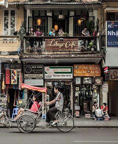 Un petit café discret, comme on les aime #cafe #hanoi #hanoivietnam