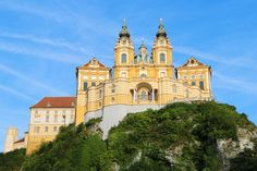 Melk Abbey is one of the world's most famous monasteries. If you're planning a trip to Austria and thinking about taking a day trip Melk Abbey, here are 5 things you definitely need to see at the abbey! Places To Travel, Places To See, Travel Destinations, Travel Tips, Visit Austria, Vienna Austria, Wachau Valley, Danube River Cruise, Visit Prague