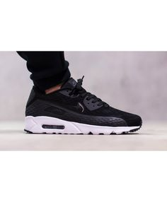 2017 Nike Air Max 90 Black BH011 231 Trainer Sale UK Feeling very cool, very comfortable to wear, very suitable for young friends.