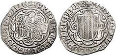 Piereale (anche pereale, pirreale, cioè reale di Pietro): moneta da un reale battuta per la prima volta a Messina da Pietro III d'Aragona (1282-1285). Piereali furono battuti in Sicilia dagli Aragona fino a Martino II.      Pereale d'oro: pesava 5 trappesi a 24 K e valeva un tarì d'oro.     Pereale d'argento: era un carlino da 10 grana.