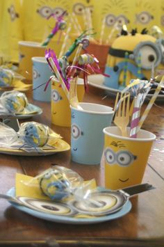 "Photo 16 of 20: Minions / Birthday ""Minion (Despicable Me) Party"" 