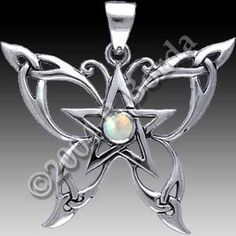I want this, it's gorgeous!   #pentacle #jewelry #dryaddesign