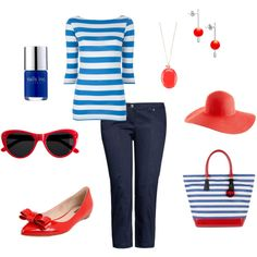 Picnic on the 4th, created by Miss Sandy on Polyvore