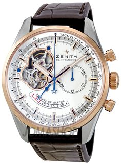 Zenith Chronomaster Open Reserve Two-tone Automatic Mens Watch 512080402101C494 $7,210.50