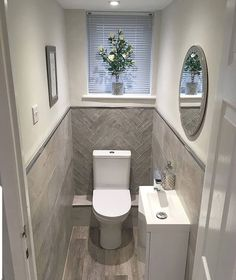 splendid small toilet design ideas for small space in your home 1 Small Toilet Room, Small Bathroom Decor, Small Bathroom Makeover, Bathroom Decor, Toilet Room Decor, Bathroom Design Small, Downstairs Toilet, Bathroom Interior Design, Bathroom Design
