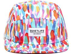 watercolor 5 panel hat by the quiet life