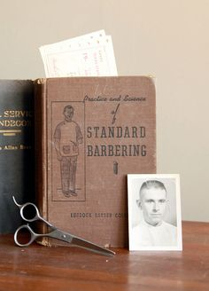 Vintage Books Standard Barbering and Civil Service Handbook by CaprockVintage, $22.00