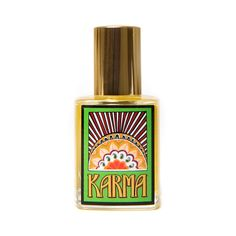 Karma perfume by LUSH - this is my all time favorite scent. I get complemented everytime I wear it too!