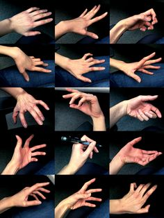 shaydh:   Took a bunch of photos of my hand... - Art References