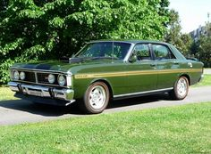 1971 Ford XY Falcon GT-HO Phase II  This was our family car growing up but ours wasn't a GT but a stock standard factory model -Fairmont